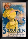 Saxoleine Petrole de Surete Framed Giclee Print by Jules Chéret