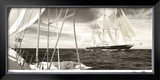 Schooners Crossing Limited Edition Framed Print by Cory Silken