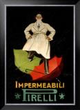 Impermeaabili Pirelli Framed Giclee Print by Leonetto Cappiello