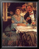 Chez Mouquin Poster by William Glackens
