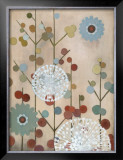 Mod Blossom Prints by Sally Bennett Baxley