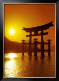 O-Torii Gate, Itsukushima Shrine, Japan Art by Paul Thompson