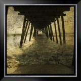Pier Break Prints by John Golden