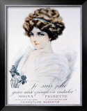 Je Suis Jolie Framed Giclee Print by Maurice Millere