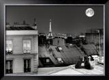La Tour Eiffel de la rue St Eleuthère Posters by Antoine Carrara