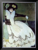 Femme en Bleu Poster by Pablo Picasso
