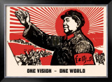One Vision, One World Posters