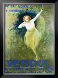 Verdol Dentifrice Framed Giclee Print by Leonetto Cappiello