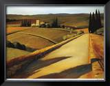 Tuscan Sun Limited Edition Framed Print by Robert White