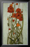 Poppy Garden Prints by Karen Tusinski