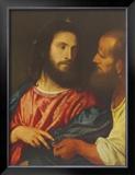 The Tribute Money, 1518 Prints by  Titian (Tiziano Vecelli)