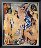 Les Demoiselles d'Avignon, c.1907 Posters by Pablo Picasso