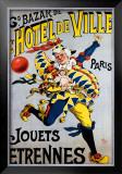 GD Bazar de l'Hotel de Ville Framed Giclee Print by  Michele