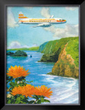 Hawaiian Airlines Framed Giclee Print by Lloyd Sexton