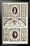 Sepia Pergolesi Panel I Print by Michel Pergolesi