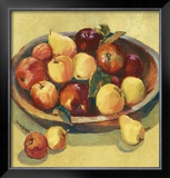 Apple Bowl I Art by Dawna Barton
