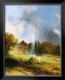 The Castle Sanssouci Prints by Karl Blechen