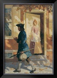 Franklin's Arrival Prints by Newell Convers Wyeth