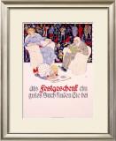 Festgeschenk Framed Giclee Print by Burkhard Mangold