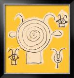 Tete de Faune en Grisaille avec Trois Figure Art by Pablo Picasso