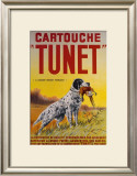 Cartouche Tunet Framed Giclee Print by F. Maisser