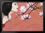 Camellia Prints by Aline Bereau