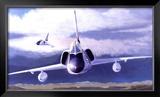 F-106 Delta Dart Framed Giclee Print by Douglas Castleman