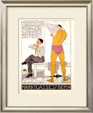 Herrenwasche, 4 Jahreszeiten Framed Giclee Print by Burkhard Mangold