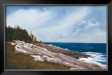 Pemaquid Point Print by Douglas Brega