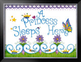 Princess Sleeps Here Prints by Tania Schuppert