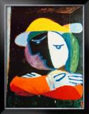 Femme au Balcon, c.1937 Print by Pablo Picasso