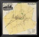 White Plains, New York, c.1868 Framed Giclee Print by Frederick W. Beers