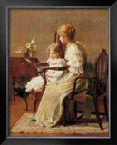Mother and Child, c.1885 Art by Francis Coates Jones