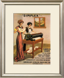 Simplex Ironer, 1915 Posters by D. Dettelbach