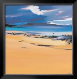 Niabost Sand, Harris Limited Edition Framed Print by Pam Carter