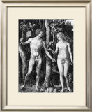 Adam and Eve, c.1506 Posters by Albrecht Dürer