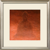 Red Buddha Prints by Lente Louisa