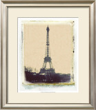 Eiffel View I Poster by Meghan McSweeney
