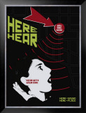 Grasping Grammar: Hear Here Prints by Christopher Rice