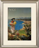 Nice Framed Giclee Print by Pierre Comba