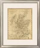Scotland, c.1812 Framed Giclee Print by Aaron Arrowsmith