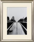 Driving by Clignancourt Print by Manabu Nishimori