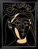 Femme au Chapeau Fleuri Print by Pablo Picasso