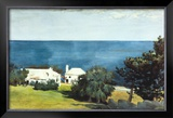 Shore at Bermuda Poster by Winslow Homer