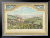 Vineyard Window II Poster by Joelle McIntyre