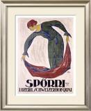 Sporri Framed Giclee Print by B. Durst