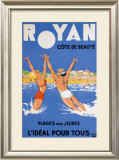 Royan, Cote de Beaute Framed Giclee Print by Paul Ordner