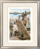 Between the Tides Prints by Walter Langley