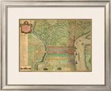 Philadelphia, c.1802 Framed Giclee Print by Charles P. Varle