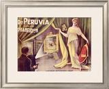 Les Deperuvia Framed Giclee Print by L. Damare